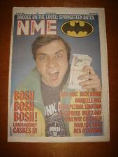 NME 1988 APR 16 HARRY ENFIELD RUN DMC MEATLOAF SEXPRESS