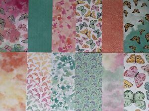 "Stampin' Up! Butterfly Bijou Designer Series Paper - 12 Sheets - 6"" x 6"""