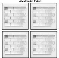 Küchenrückwand verschönern mit selbsklebende Mosaikfolie Vinyl-24002 | 4 Matten