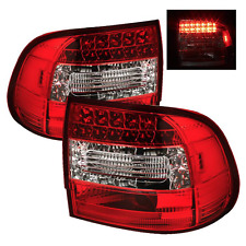 2003-2006 PORSCHE CAYENNE 955 SPYDER AUTO LED TAIL LIGHTS TAILLIGHTS RED CLEAR