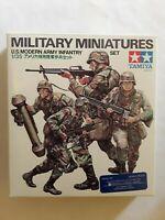Military Model Miniatures Set. Tamiya 1/35 scale U.S. Modern Army Infantry Set