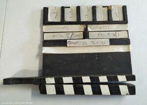 Play School ABC 1980s Film Movie Prop Original Set used Clapper Clap Board Slate