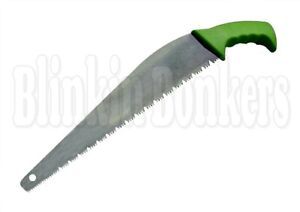 PRUNING HAND SAW HANDLE TRIMMING CUTTING TREE BRANCH BUSH GARDEN TOOL SHARP UK