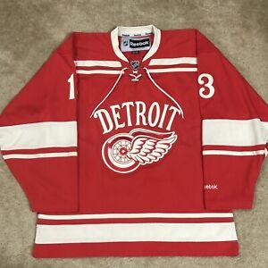 Reebok Pavel Datsyuk Detroit Red Wings 2014 Winter Classic NHL Jersey Red XL