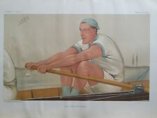 Original Vanity Fair Print; Stanley Duff Muttlebury - 15th March 1890 (Rowing)