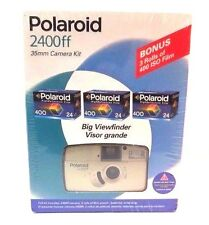 Polaroid 2400FF 35mm Camera Kit 28mm Autofocus Plus Film 400iso