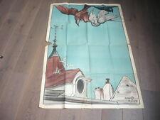 GRANDE AFFICHE CHAMONIX MONT-BLANC SIGNEE AUGUSTE MATISSE  1925