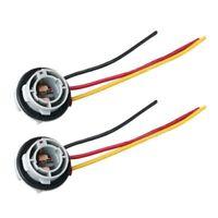 2Stk 1157 Bay15D Lampen Fassung Lampen P21/5 Watt Adapter Basis Sockel Stec P2R1