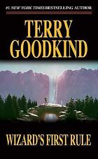 📖 WIZARD'S FIRST RULE By TERRY GOODKIND (PAPERBACK) Fantasy Book NEW