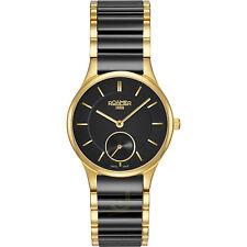 Roamer Saphira Damen Schweizer Quarz Armbanduhr Schwarz Keramik 677855 48 55