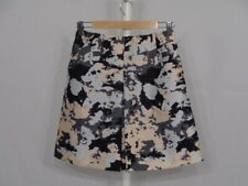 [mb0] Whistles Sz 8 a-line wool/silk blend skirt. Camo