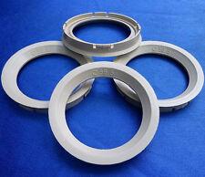 (FZ43) 4x Zentrierringe  73,0 / 56,6 mm beige für Alufelgen