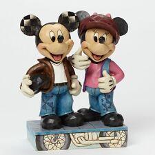Jim Shore - Biking Sweethearts - Mickey and Minnie Figurine