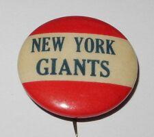 1940's PM10 Baseball Stadium Team Pin Button Coin New York Giants Pinback V2