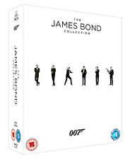 James Bond Collection NEW Classic Blu-Ray 23-Disc Set Daniel Craig Sean Connery