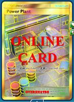 Power Plant Secret Rare SR Cosmic Eclipse Pokemon TCG ONLINE Card PTCGO FAST!!