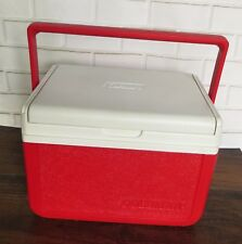 Coleman Lunch Box Cooler Small 6 Pack Ice Chest Red 5205