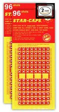 Toy Gun Single Shot Refill Strip  Bundle 2 Pack  192 Shots Total  Retro Star-Cap