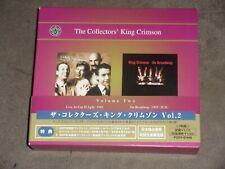 Collectors' King Crimson Box Vol 2 Japan 3-CD Set
