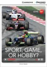 SPORT, GAME OR HOBBY? LOW INTERMEDIATE BOOK WITH ONLINE ACCESS by BeaverSimon...