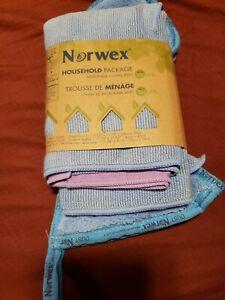 Norwex Microfiber Household Package Enviro+WindowCloth+Mitt