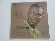FACTORY SEALED NAT KING COLE - LOVE IS THE THING LP CAPITOL RECORDS SM-824