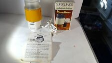 MOULINEX SUPER JUNIOR COFFEE GRINDER MILL MOD 228 FRANCE TESTED IN BOX MANUAL