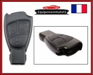 coque boitier clé clip  MERCEDES W168 W202 W203 W210 W211 A B C E S ML 3 BOUTONS