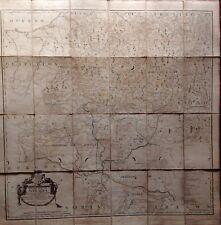 Reino de Navarra. Mapa original de Tomás López, 1772
