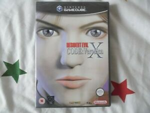 RESIDENT EVIL CODE VERONICA X Nintendo Gamecube PAL NEW SEALED Nuevo Reino Unido