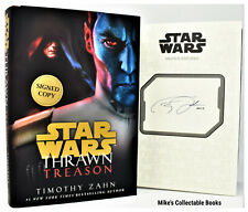 **SIGNED 1/1** Thrawn: Treason (Star Wars Book) AUTOGRAPHED Timothy Zahn NEW