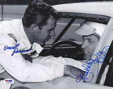 David Pearson & Richard Petty DUAL SIGNED 8x10 Photo PSA/DNA AUTOGRAPHED