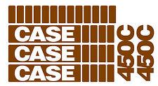 Case 450 450C 550 Crawler Dozer Decal Set vinyl decal stickers