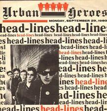 "URBAN HEROES - Headlines (1980 NEDERPOP VINYL SINGLE 7"")"