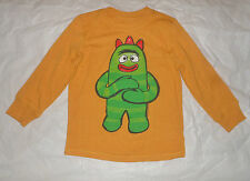 Old Navy Toddler Boys Gold Long Sleeve Shirt with Brobee Size 5T NWT