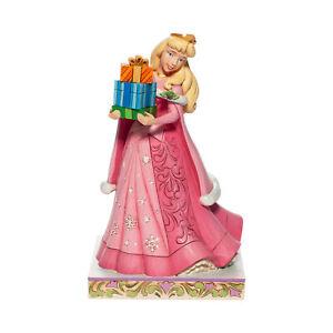 Disney Traditions Christmas Aurora Jim Shore Figurine New with Box