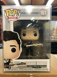 Funko POP! Rocks SHAW MENDES Figure #161 w/ Protector