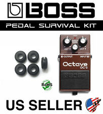 BOSS OC-2 OCTAVE SURVIVAL KIT GUITAR PEDAL GROMMET RUBBER O-RING SET OF 5