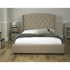 Fabricated Signature 5ft Kingsize Bed Beige is a New Grand Design Stylish Bed