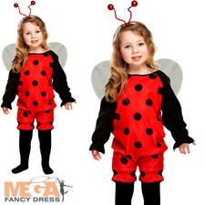 Toddler's Ladybug Fancy Dress Animal Insect Costume Girls Boys 2 3 4 Y