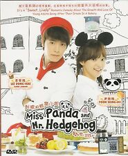 KOREAN Drama DVD Miss Panda And Mr Hedgehog 刺蝟與熊貓小姐 (2012) Eng Sub ALL Region