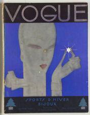 BENITO Art Deco VIONNET Max Ernst EDWARD STEICHEN Vogue magazine December 1928
