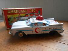 altes Blechspielzeug, Ambulans Oto, Ambulanzauto von Ne-Kur (NK)