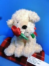 Best Made Toys Golden Retriever Puppy with Red Rose plush (310-3260)