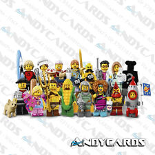 SERIE COMPLETA / COMPLETE SERIES ☻ LEGO MINIFIGURES SERIE 17 ☻ ANDYCARDS