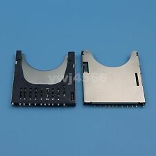 100Pcs Push Self- Release MMC / SD Long Memory Card Card Socket Holder Connector