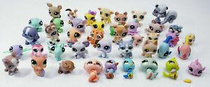 Lot of 42 LPS My Little Pet Shop Animals Figures Hasbro 2005 06* 07*