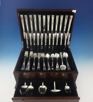 Classic Rose by Reed & Barton Sterling Silver Flatware Set 12 Service 77 Pieces