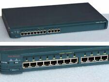 CISCO SYSTEMS CATALYST2900 WS-C2912-XL-EN 12xPORT 10/100 LANSWITCH #B83_Sep17