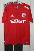 West Bromwich Albion Training Adizero Adidas Shirt Jersey Kit Size L